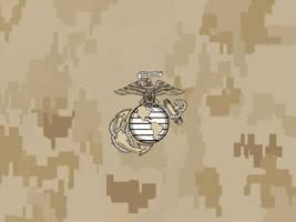 Digital Desert USMC by militaryace