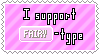 Fairy-Type Support Stamp by Natsu714