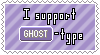 Ghost-Type Support Stamp by Natsu714