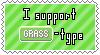 Grass-Type Support Stamp by Natsu714