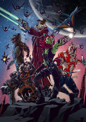 Hounds of the galaxy by Ovi-One