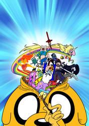 Zuzumba! - A Spanish Adventure Time fanzine by Ovi-One