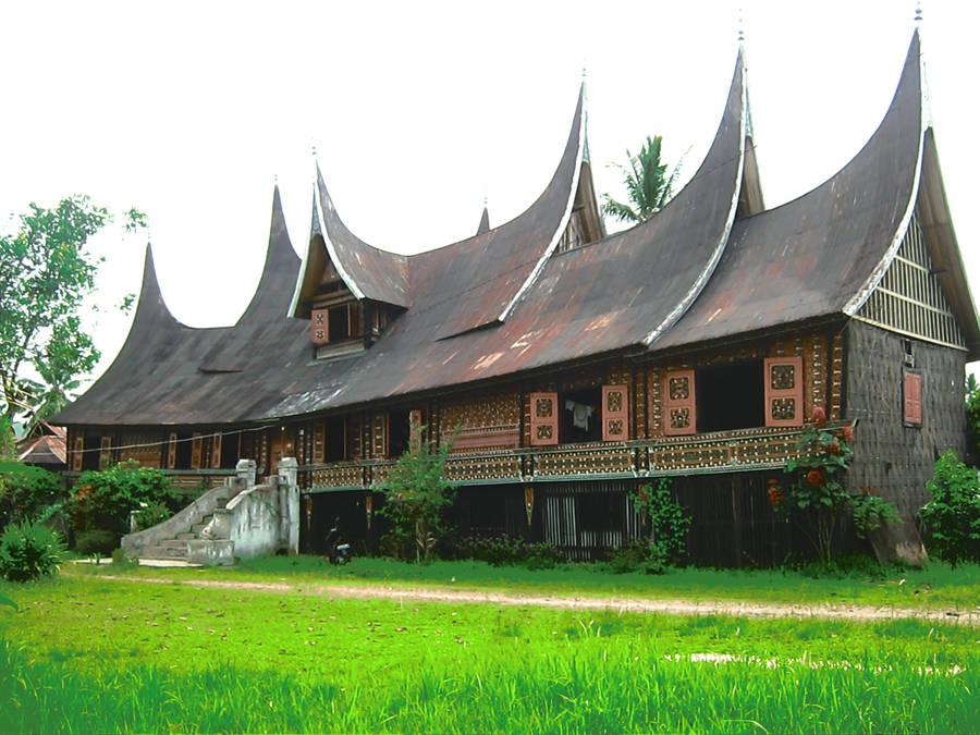Rumah Gadang by estelersketsa