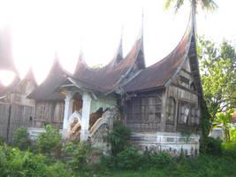 the other of rumah gadang (2) by estelersketsa