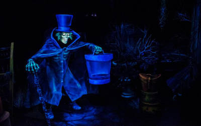 Hatbox Ghost from The Haunted Mansion by PeteDRaptor