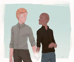 Markus and Simon commission by Ela-yoe