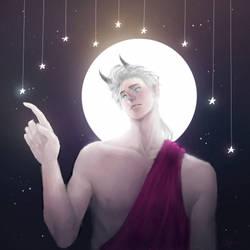 touching the stars by Ela-yoe