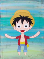 Luffy by TetraModal