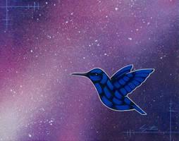 Space Bird by TetraModal