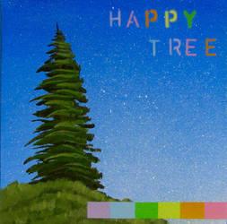 Happy Tree by TetraModal