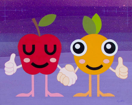 Apple And Orange by TetraModal