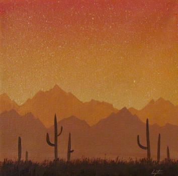 Saguaros by TetraModal