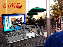 Coffee and Gimp by jayrew