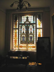 Stained-glass Window by ctrringbearer