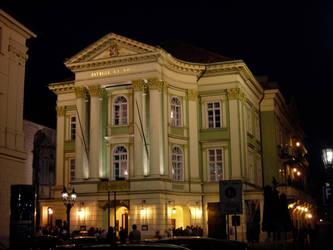 Prague Opera House by ctrringbearer