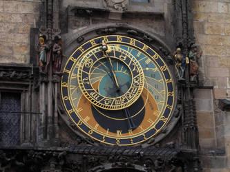Prague Astronomical Clock by ctrringbearer