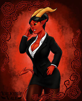 Demon Lawyer by ValkyrieVale