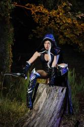Dark Elf by LadyGiselle