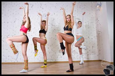 Aerobic class by Edward-Photography