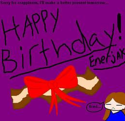 Happy Bday Enerjak1 by Akina-Shichiyou