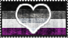 Request: Asexual Heteroromantic Stamp by fellSans