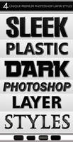 Sleek Dark Layer Styles by Giallo86