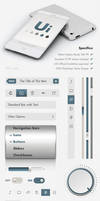 iOS UI Elements - GUI User Interface Pack by Giallo86