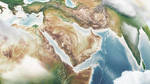 Middle East Asia - 3D World Map Illustrations by Giallo86