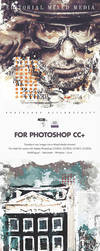 Editorial Mixed Media FX - Photoshop Add-On Action by Giallo86
