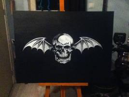 A7X Deathbat by GothX2410