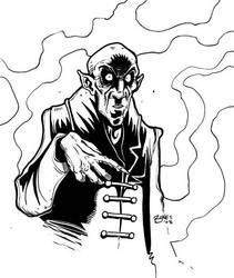 Nosferatu by mister-bones