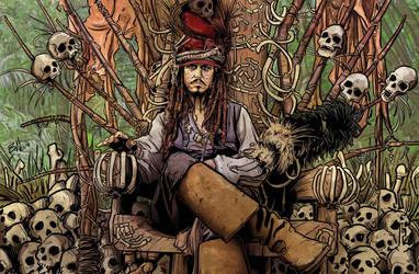 CAPTAIN JACK SPARROW by mister-bones