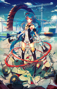 Senkaku Mei (Anime Revolution) by softmode