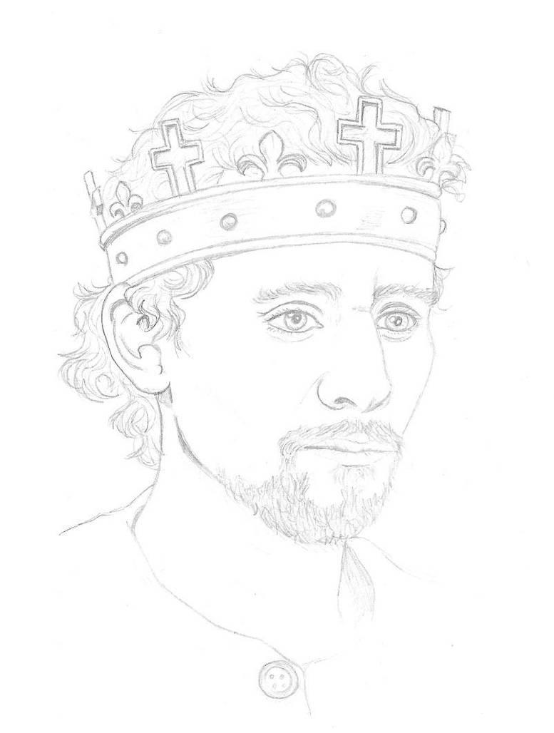 Tom Hiddleston King Henry V by CaptainKPeanuts