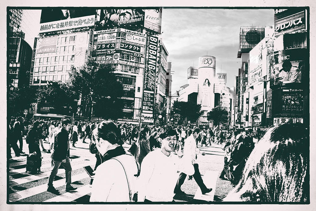 Streets of Tokyo by Ealin