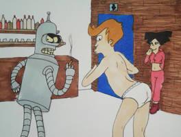 Booty shake bet by rai-kami