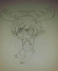 Thunderhoof by Mushi102