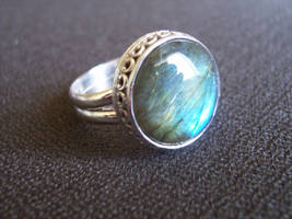 Jewelry: Ring 002, 'The Neptune Ring' by 4pplemoon