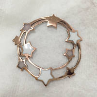 Jewelry: Pendant 004, Double Circle Constellation by 4pplemoon