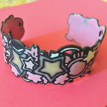 Jewelry: Bracelet 004, Sweet Sugar Runes by 4pplemoon