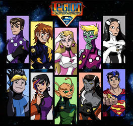 Legion of Super Heroes by mystryl-shada