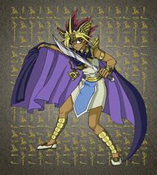 Yugioh:  Pharoah Atem by mystryl-shada