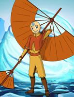 Airbender Aang by mystryl-shada