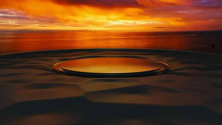 sunset by italo11