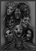Slipknot band by FLeaSUN