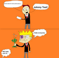 Johnny Test the worst show ever made by mippytrippy