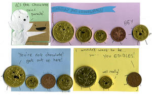 Chocolate Coins by philippajudith