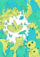Sketchbook animals 2 by philippajudith