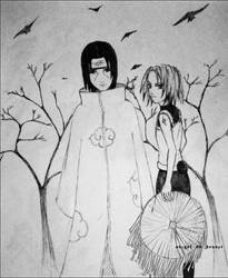 ItaSaku random . sketch by Abigel