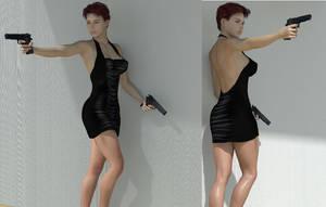 Femme Fatale by 3dcheapskate